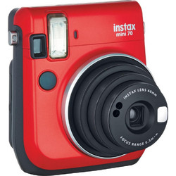 Fujifilm instax mini 70 Instant Film Camera Passion Red (έως 12 Άτοκες δόσεις)