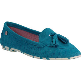 c8143f89322 yum gum Γυναικεία Παπούτσια Mocassin Mina 17SW604/17 Τιρκουάζ yum gum  Mocassin Mina 17SW604/