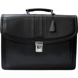 a6f267daf0 Επαγγελματική τσάντα δέρμα Forest 85-Μαύρο