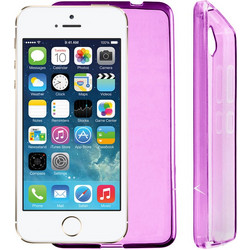 ΘΗΚΗ IPHONE SE/5/5S SLIMCOLOR TPU PINK VL
