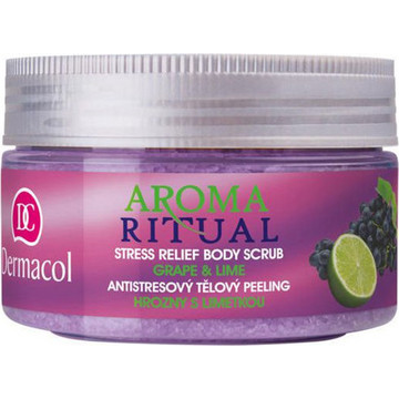 Dermacol Aroma Ritual Body Scrub Grape & Lime 200gr