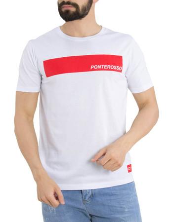 36bbe47168fe μπλουζα t shirt - Ανδρικά T-Shirts Ponte Rosso
