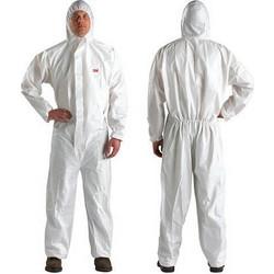 cf2576cfa25 Ολόσωμη λευκή φόρμα προστασίας μιας χρήσης