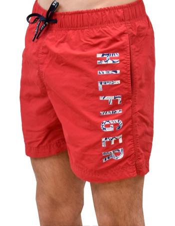 Μαγιό Side Logo Tommy Hilfiger UM0UM00806 - κόκκινο 4821a5a28f6