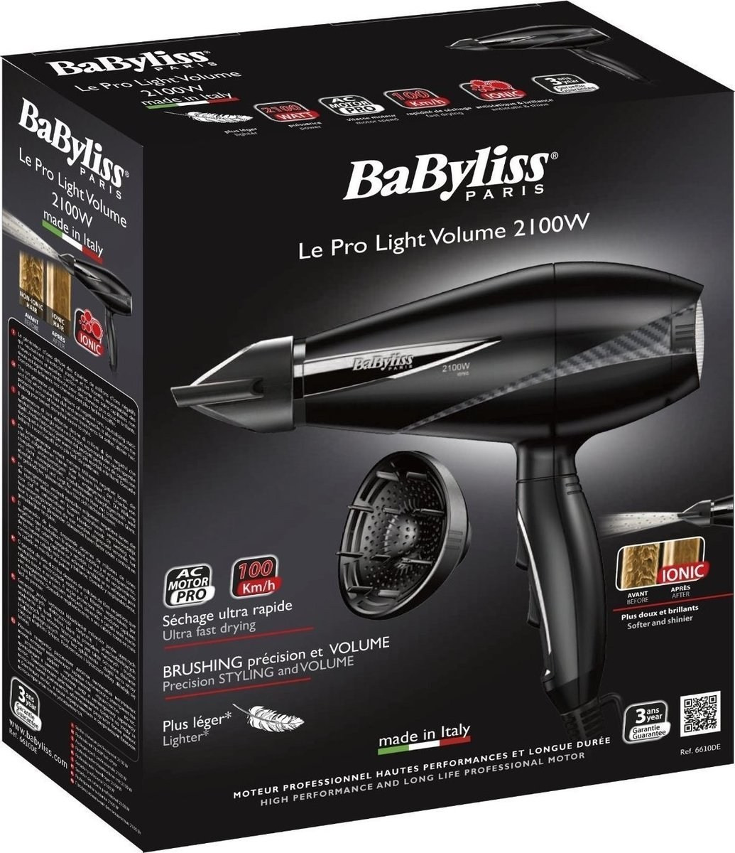 Babyliss Pro Light 6610DE  24311fc882e