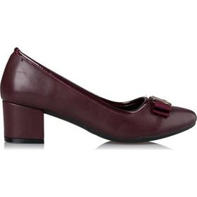 b37515696e9 Miss NV Γυναικεία Παπούτσια Γόβα Μπαλαρίνα V64-08503-34 Μπορντώ 46998