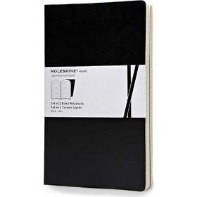 a00899390db Σημειωματάριο Volant Journal Plain Black - Pocket (2 Τεμάχια) Moleskine -  QP721BK