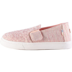 69ec6504005 TOMS Twill Glimmer Youth Luca Slip On Shoes - Παιδικά Παπούτσια 10012574