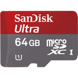 Sandisk 64GB microSDXC Mobile Ultra Class 10 + Adapter
