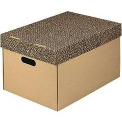 Κουτί χάρτινο ΙΩΝΙΑ κρεμαστών φακέλων Α4 με καπάκι 5ad10ce5899