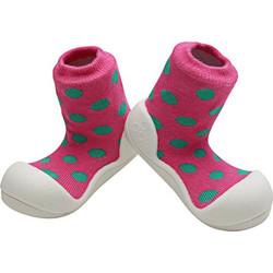Polka Pink Dot ΒΡΕΦΙΚΑ   ΠΑΙΔΙΚΑ ΠΑΠΟΥΤΣΙΑ - AD03 5340f3086b6