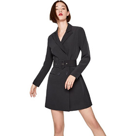 d6c05eca317 Pepe Jeans γυναικείο φόρεμα blazer Roberta - PL952437 - Μαύρο