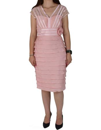 85d5e41da1f6 Φόρεμα Μίντι Vagias 4608-50 Ροζ vagias 4608-50 roz