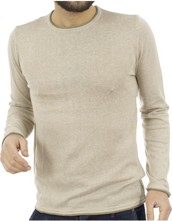 b2570a145fcf Ανδρικό Πλεκτή Μπλούζα BLEND Poulover 20705105 Εκρού