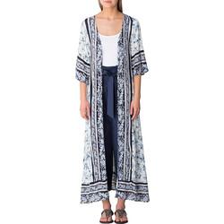 aca39894697 Attrattivo Kimono Μακρύ Floral 9907696-BLUE