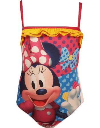 Παιδικό Μαγιό Ολόσωμο Minnie Mouse Μοβ Χρώμα Disney 8a958d59d09