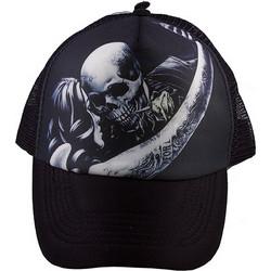 f8ab330fed80 Καπέλο Jockey Unisex Με Σχέδιο Skull Love Tfar