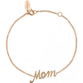 Βραχιόλι Vogue ροζ χρυσό ασήμι 925   Mom   με ζιργκόν 435231.2 62527455d09