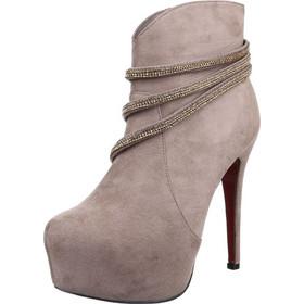 babd4c046d4 παπουτσια μπεζ - Γυναικεία Μποτάκια με Τακούνι Ld Shoes | BestPrice.gr