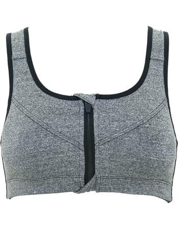 Γυναικείο αθλητικό μπουστάκι σε γκρι χρώμα 54afba1584f