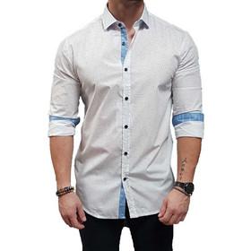 d437ebc15c2f πουκαμισο λευκο - Ανδρικά Πουκάμισα Stefan