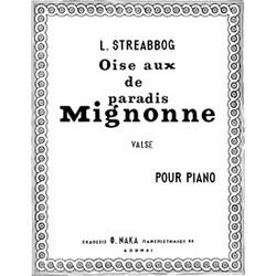 Louis Streabbog - Mignonne