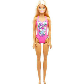 Mattel Barbie Beach Ροζ Μαγιό  79a82eee985