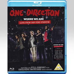 1D ONE DIRECTION: WHERE WE ARE: LIVE FROM SAN SIRO STADIUM (BLU-RAY) - FEELGOOD ENTERTAINMENT