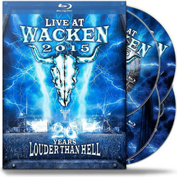 LIVE AT WACKEN 2015 - 26 YEARS LOUDER THAN HELL (2016) (2 BLU-RAY + 2 DVD) - IMPORTED / ΕΙΣΑΓΩΓΗΣ