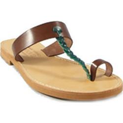 f56435500ee Γυναικείο δερμάτινο σανδάλι ταμπά-πράσινο Kokka Shoes (Τ93)