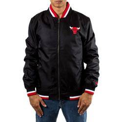New Era Nba Team Varsity Jacket Chicago Bulls Black a934cd3497f