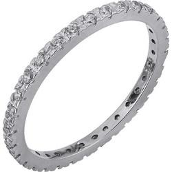 Ολόβερο δαχτυλίδι Κ14 με ζιργκόν 028744 028744 Χρυσός 14 Καράτια a97f561698b