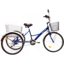 "Sector Cargo 24"" 18Sp Blue"