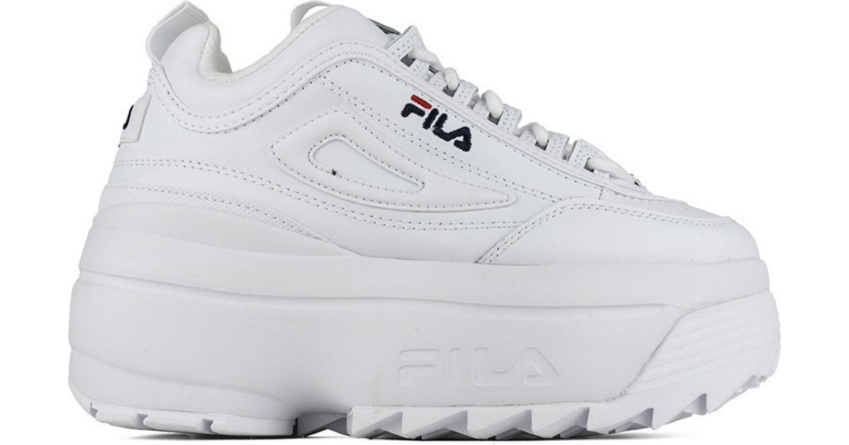 Fila Disruptor II Wedge 5FM00704 125 White | Diversoshoes.gr