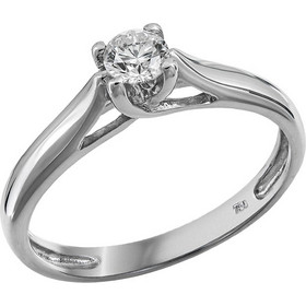 Λευκόχρυσο μονόπετρο με διαμάντι 18Κ 006409 006409 Χρυσός 18 Καράτια e3eef0b9203