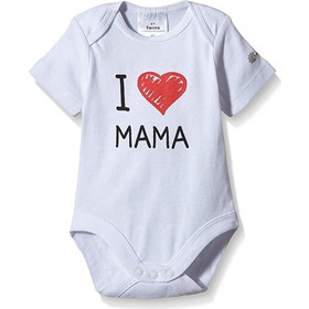 Twins I Love Mama Φορμάκι 9-12 μηνών 80 cm - Λευκό a2e4b47592b