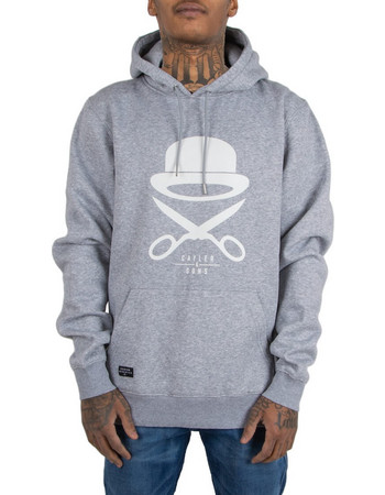 CAYLER AND SONS Φούτερ Κουκούλα PA ICON HOODY GREY HEATHER WHITE PA-SS18- d72e4b31f4c