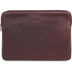 275480be40 KNOMO Barbican Γνήσια Δερμάτινη τσάντα Sleeve για Macbook Pro-Air