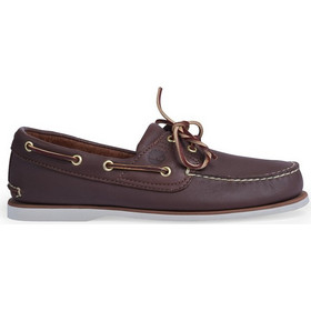 9adac4a8de3 Timberland BOAT TB 0 74035 2141 MENS 2 EYE BOAT SHOE BROWN
