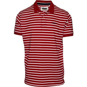 6b17270a39e1 71358-20 Ανδρικό Polo πικέ ριγέ - κόκκινο άσπρο
