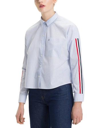 edd1f1d624ed Tommy Hilfiger Boyfriend Stripe Shirt DW0DW05297-400