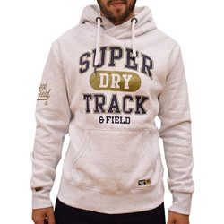 SUPERDRY SUPER METALLIC HOOD PODIUM ICE MARL 632228faaa8
