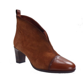 405f05dba28 Hispanitas Γυναικεία Παπούτσια Mποτάκια HI87991 Ταμπά Δέρμα Kαστόρι  hispanitas hi87991 tampa