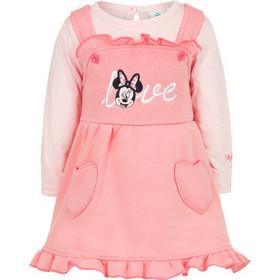 12882e1f1d4 Βρεφικό Σετ 2 Τμχ Χρώματος Ροζ Minnie Disney AHQ0220