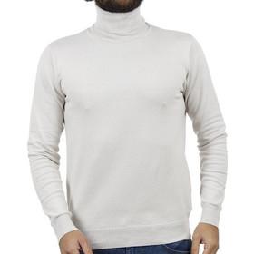 bf7dea20563a Ανδρικό Ζιβάγκο Πλεκτή Μπλούζα SMART +amp CO 40-206-020 Ice Λευκό