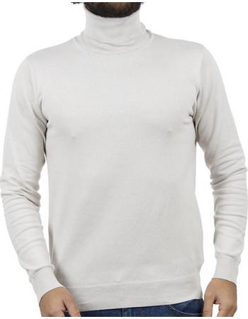 4405694f5d1c Ανδρικό Ζιβάγκο Πλεκτή Μπλούζα SMART +amp CO 40-206-020 Ice Λευκό