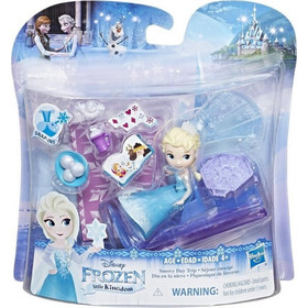 e57ae494028 Hasbro Disney Frozen Little Kingdom Small Doll Accessories - Elsas Snowy  Day Trip (E0231)