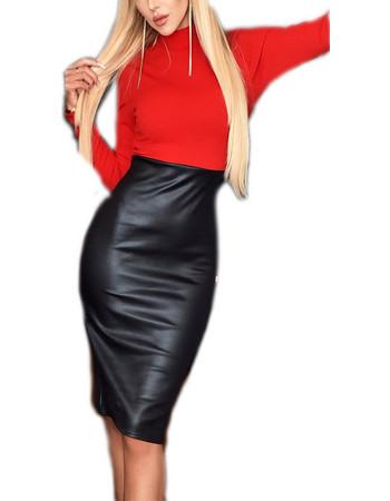 8b4ad9690f Meghan Markle style φόρεμα σε Κόκκινο