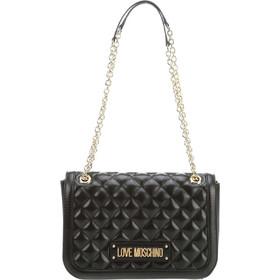 8829e2a013 Love Moschino γυναικεία τσάντα crossbody με αλυσίδα καπιτονέ -  JC4003PP17LA0 - Μαύρο