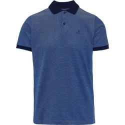77a698045cb3 Ανδρική Four-Color Pique Rugger κοντομάνικη πόλο μπλούζα Gant - 2012012 -  Μπλε